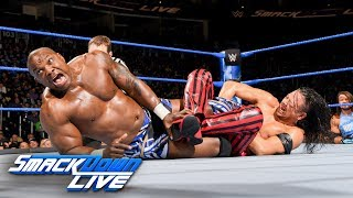 Video Shinsuke Nakamura vs. Shelton Benjamin: SmackDown LIVE, March 27, 2018 download MP3, 3GP, MP4, WEBM, AVI, FLV Juni 2018