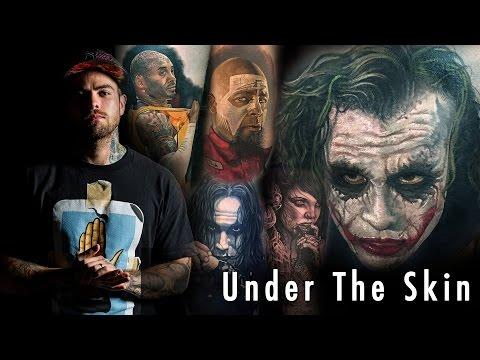 Tattoo of Joker - Steve Butcher | Under the Skin