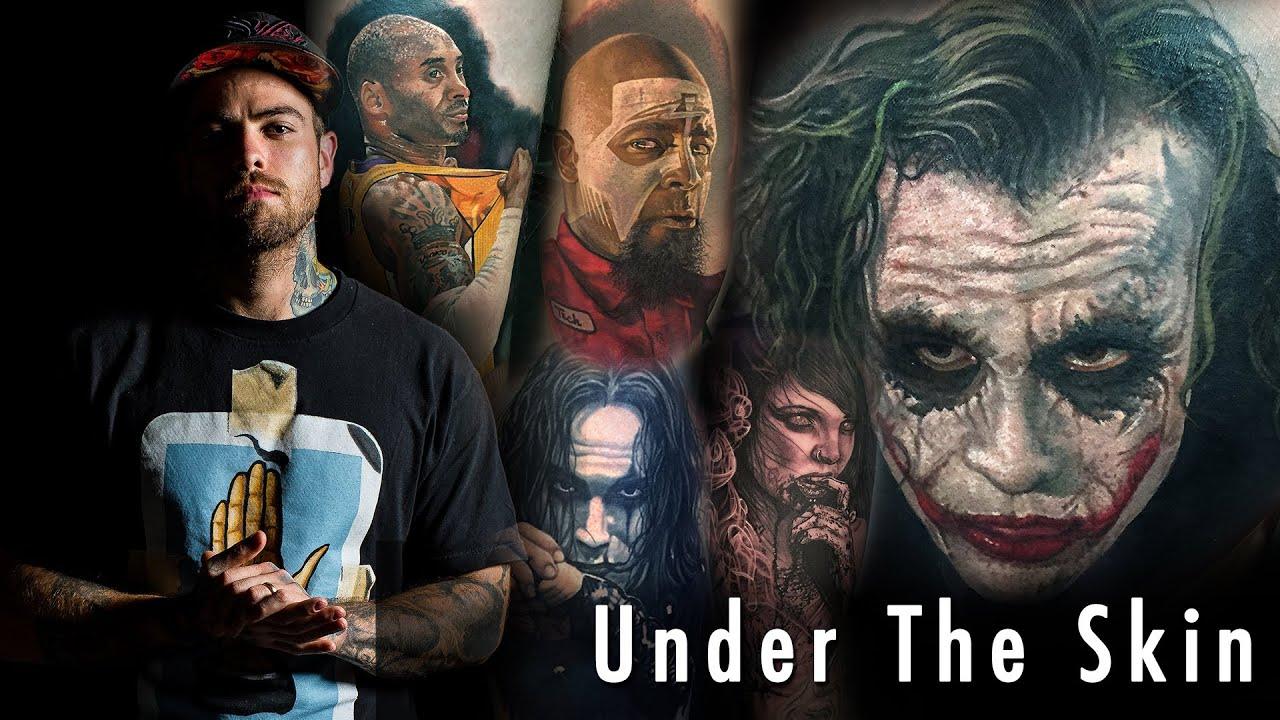 Tattoo Of Joker  Steve Butcher Under The Skin YouTube