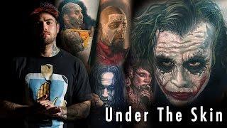 Tattoo of Joker - Steve Butcher   Under the Skin