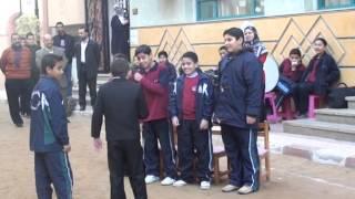 اسكتش ومجموعه المسرح لمدارس طيبه الخاصه 27 12 2012