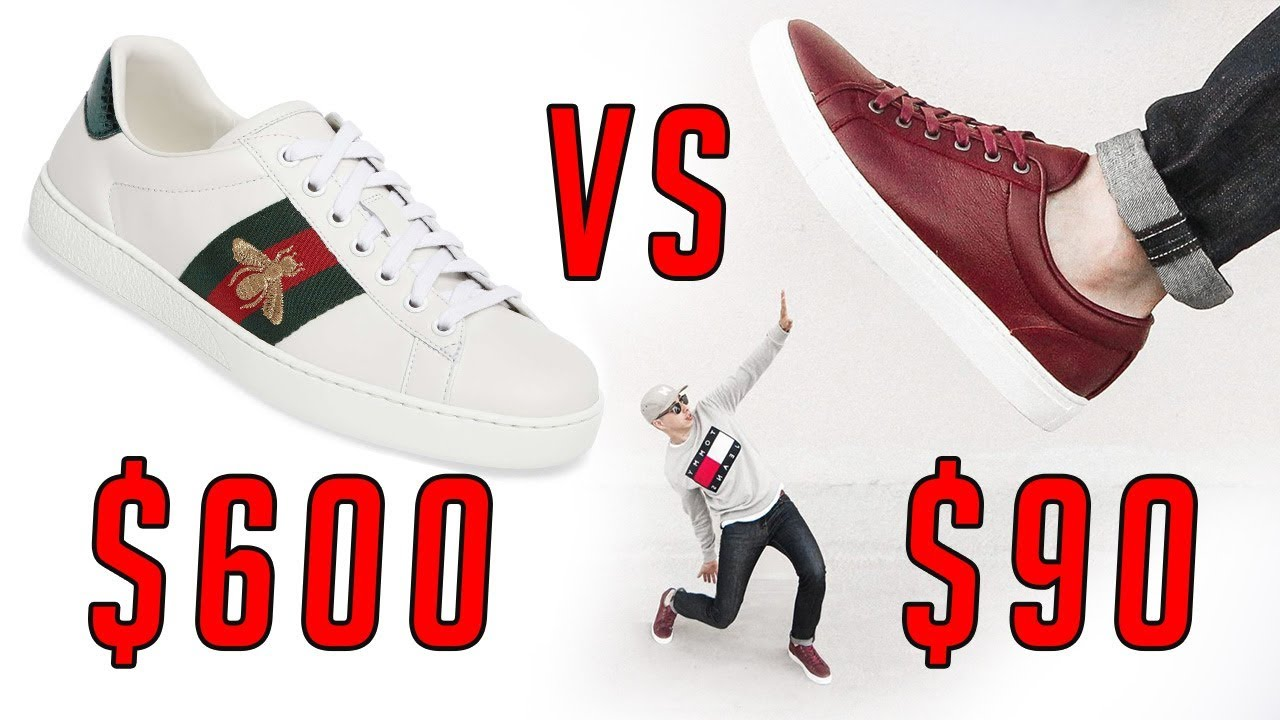 Splurge or Save Fashion Sneakers $600 Gucci VS Under $100 || Menu0026#39;s Fashion 2017 || Gentu0026#39;s ...