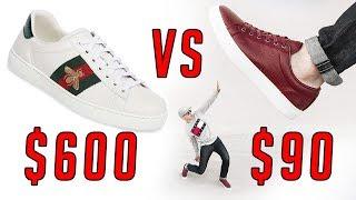 Fashion Sneakers $600 Gucci VS