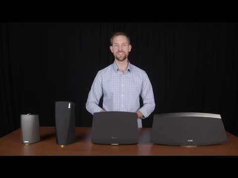 Denon Heos Speaker Comparision: 1, 3, 5, 7