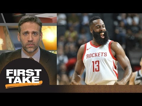 Max sends warning to Warriors: Rockets are a real threat | First Take | ESPN