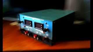Двохканальний лабораторний блок живлення 0-30V 0,002-3А.
