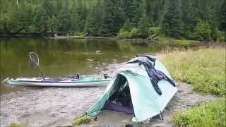 3-week Solo Kayak Camping and Fishing in Alaska one last lake (part 7)(This is Part 7 of a series of videos from a 3-week solo kayak camping and fishing trip thru south Alaska. No extra supplies were available in this remote region on ..., 2015-02-11T01:32:18.000Z)