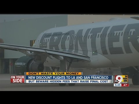 Beware hidden fees on Frontier Airlines