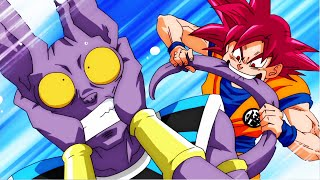 "Dragon Ball SUPER - Goku VS beerus - ""La vraie histoire"" -  Full fight - vostfr (parodie)"