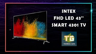 """intex LED-FHD 43"""" Smart 4301 TV 