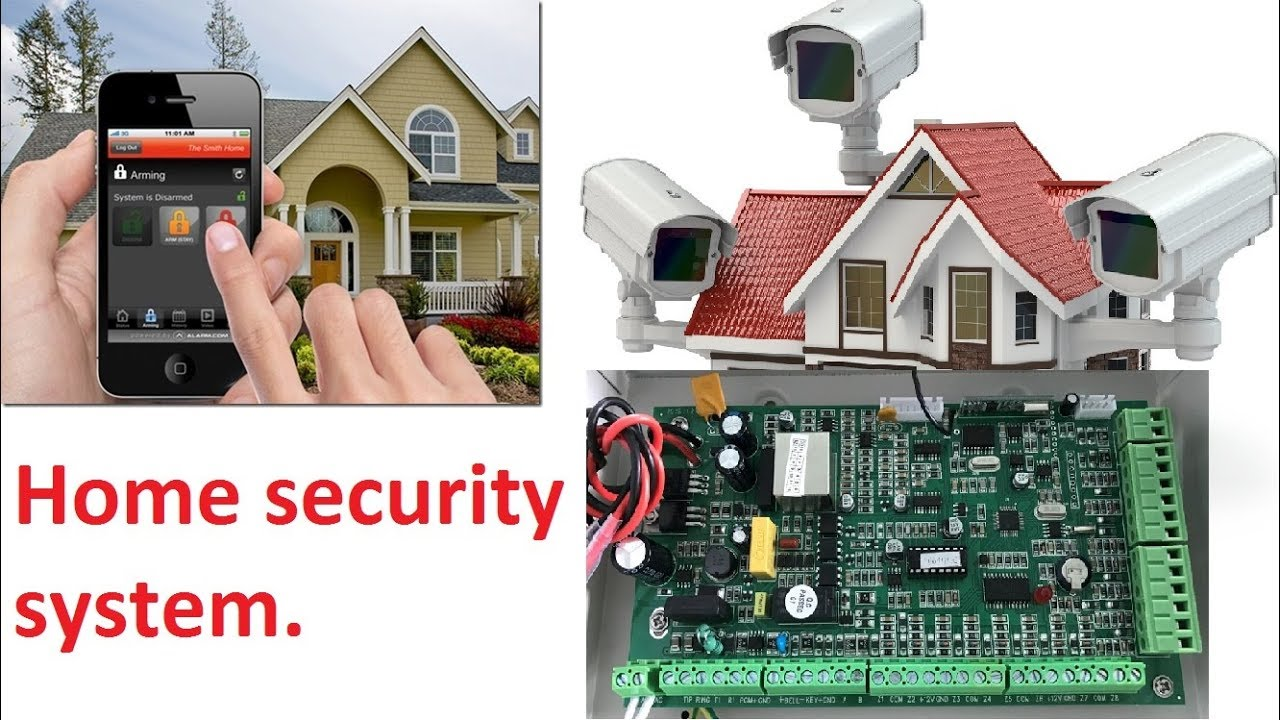 home security system how to make your own security system using pir module youtube. Black Bedroom Furniture Sets. Home Design Ideas