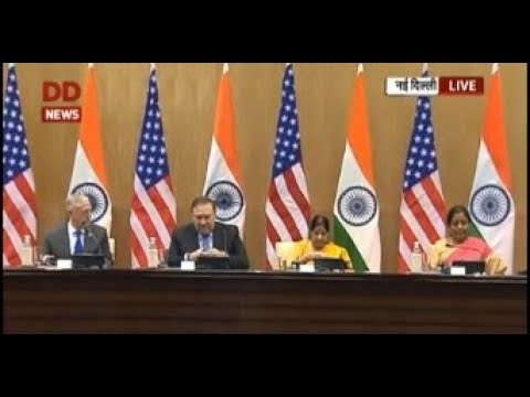 Briefing on India-US 2+2 Ministerial diagolue