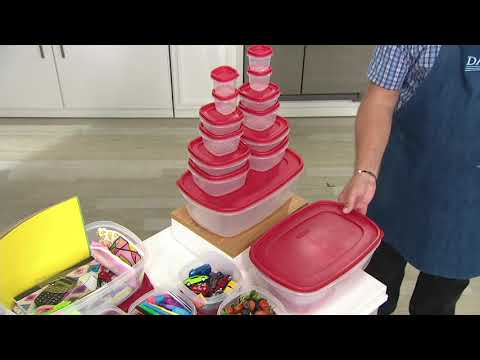 rubbermaid-13-piece-storage-set-with-easy-find-lids-on-qvc