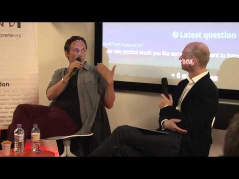 Richard Reed (Innocent Drinks) at Startup Grind London