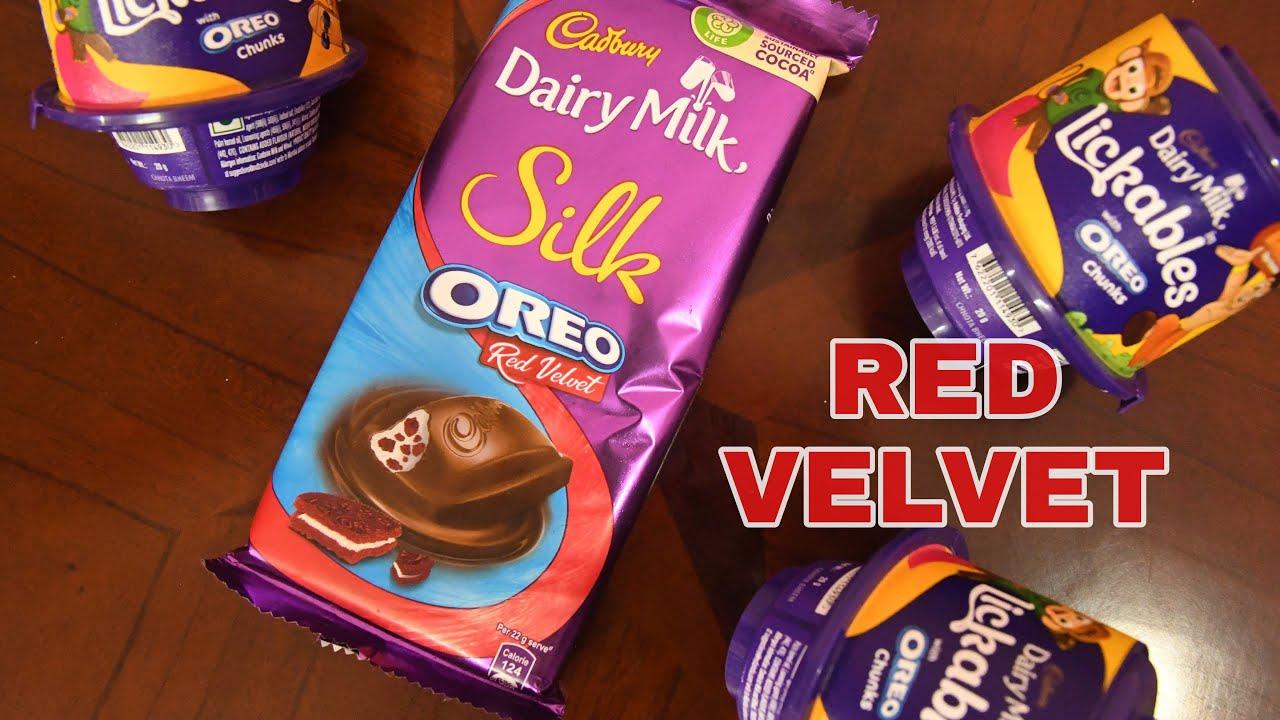 New Cadbury Dairy Milk OREO RED VELVET unboxing videos
