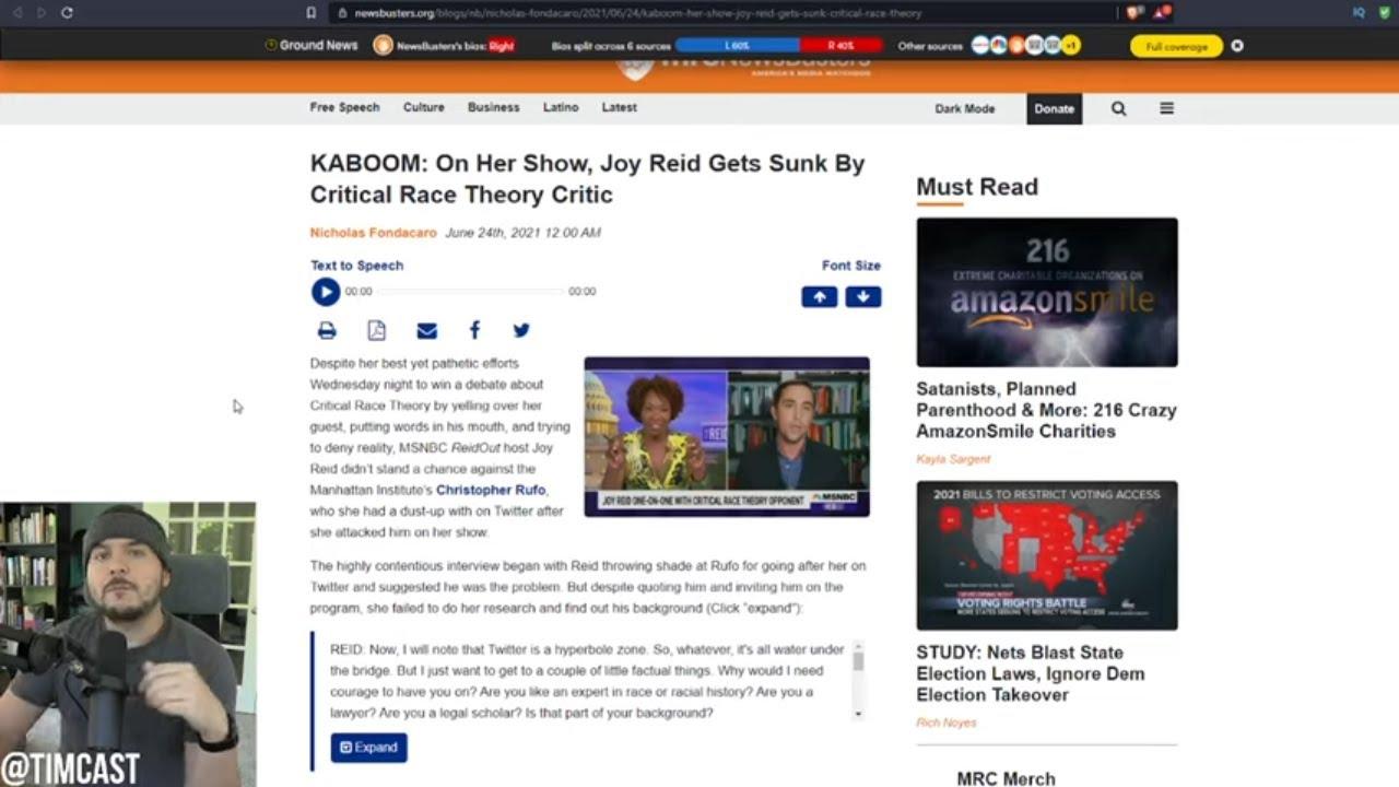 Christopher Rufo ROASTS MSNBC's Woke Joy Reid, Reid Flails As Rufo DESTROYS Critical Race Theory