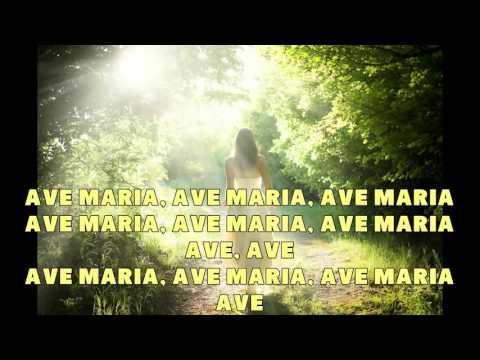 Ave Maria - Caccini - Karaoke HD