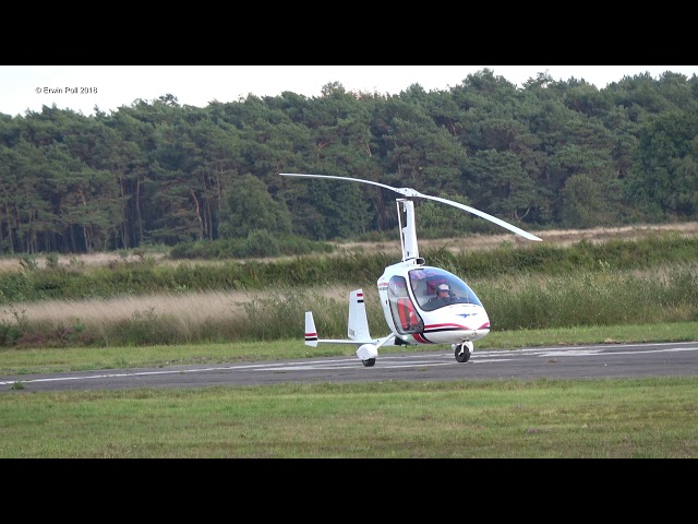 Gyroplane rotor blade testing by a Greg Spicola at