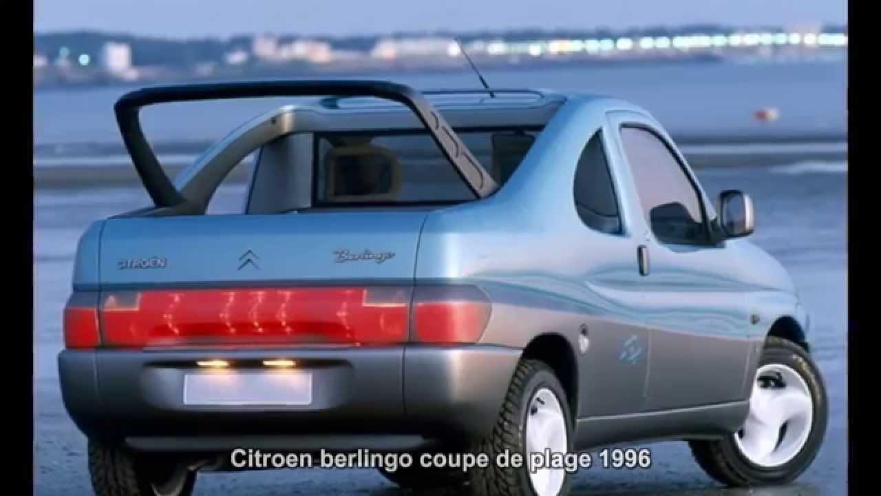 #2597. Citroen berlingo coupe de plage 1996 (Prototype Car)