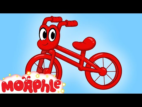 My Red Bicycle -- by My Magic Pet Morphle - 2 Hours Non Stop Kids TV compilation