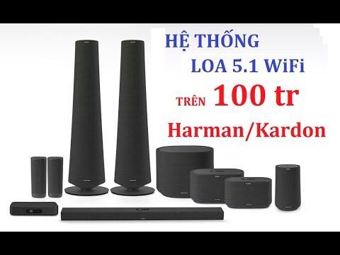 Giới Thiệu Hệ Thống Loa 5.1 Không Dây Harman Kardon Citation Tower Trị Giá Hơn 100 Triệu đồng