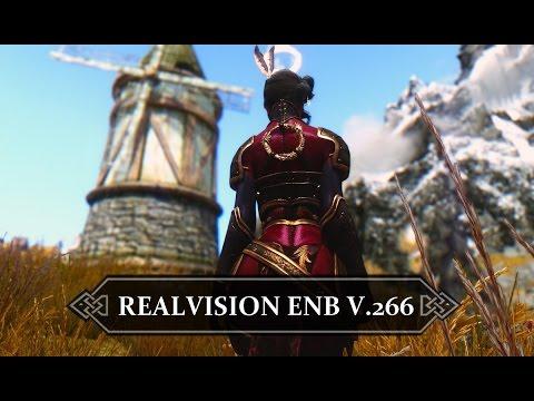 Skyrim Realvision Enb : Installation manuelle version 266 HD FR
