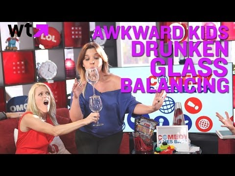 Awkward Kids Watch Alison Gold's ABCDEFG  #CGB2013 | What's Trending LIVE