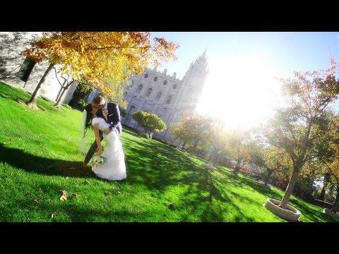 Utah Wedding Video - Kristy & Aaron - Salt Lake City Temple Wedding Highlight