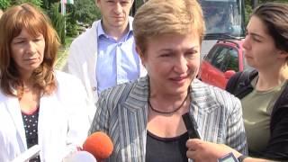 Еврокомисар Кристалина Георгиева за тютюнопушенето Kristalina Georgieva