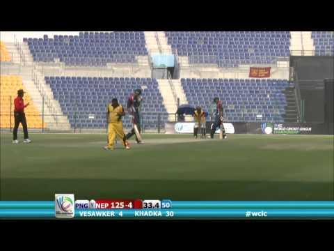 ICC World Cricket League, Nepal v PNG, 18 November, Abu Dhabi
