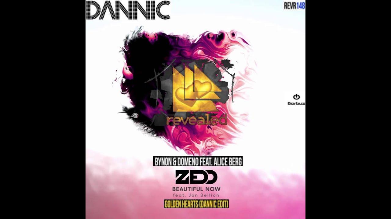 BYNON & DOMENO & Dannic vs Zedd - Beautiful Golden hearts (Dannic Mashup)