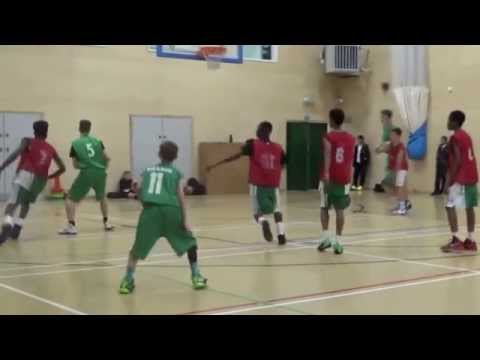 George Salter Academy u16 Basketball Highlights 20/10/15