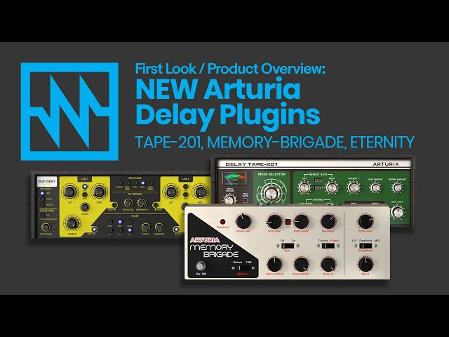 Arturia: First Look at '3 Delays You'll Actually Use'