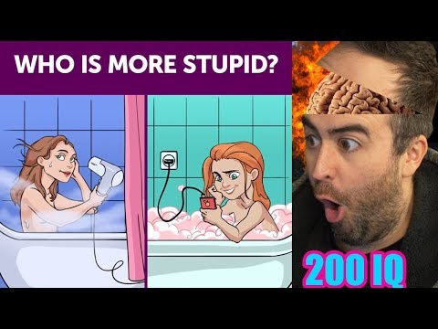 Who's More STuPid 🤯 | 200IQ 7 Second Riddles