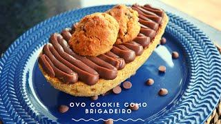 CURSO DE PÁSCOA - OVO COOKIES COM BRIGADEIRO