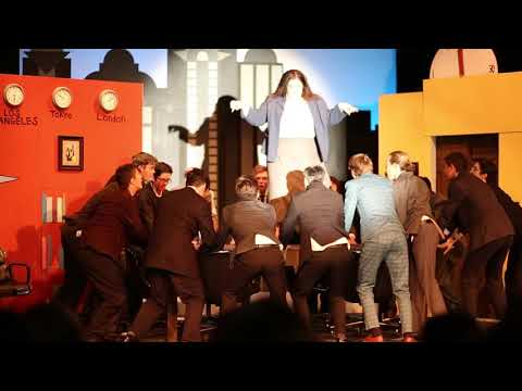 THHS Musical - How to Succeed - Brotherhood scene