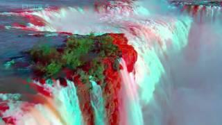 Самый величественный и красивый водопад в мире  3 д (анаглиф)(, 2014-01-11T11:50:43.000Z)