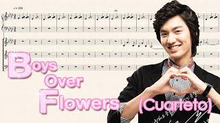 Boys Over Flowers - Stranger Sun (Piano, Violín, Violín II, Violonchelo)
