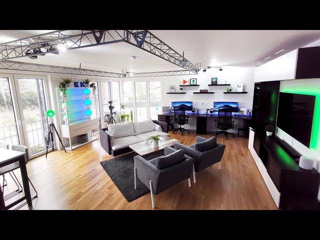 So sieht unser neues YouTube-Studio aus!