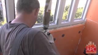 Технология комплексного ремонта лоджии П-44 лодочка под ключ