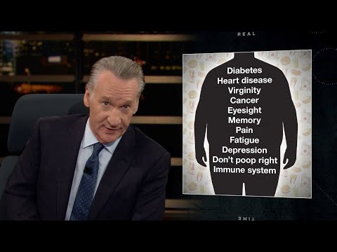 "Bill Maher: ""Being Fat Is A Bad Thing""; When Did It Become Taboo To Talk About Getting Healthy?"