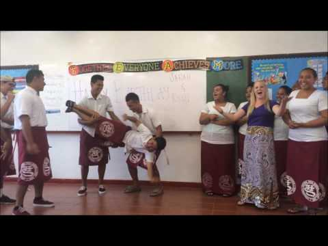 My American Samoa World Teach 2016