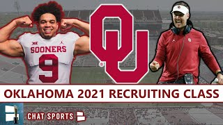 Oklahoma Football Recruiting Class: Lincoln Riley's #11 Ranked Class For 2021 Feat. Caleb Williams