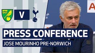 PRESS CONFERENCE | JOSE MOURINHO PREVIEWS NORWICH CLASH