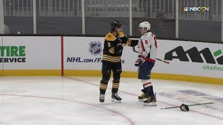 Alex Ovechkin Doesn't Drop The Gloves With Trent Frederic