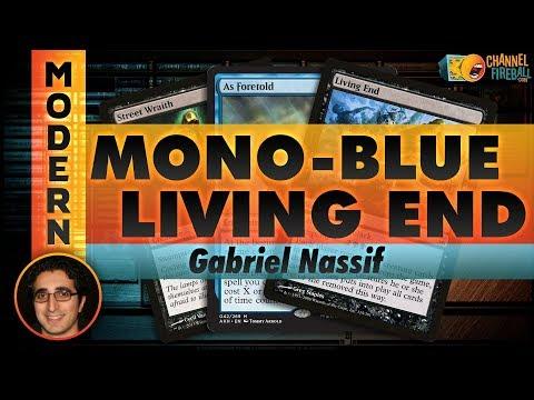 Channel Nassif  MonoBlue Living End Deck Tech & Matches
