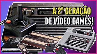A História dos Vídeo Gaṁes - A 2ª Geração: Atari, Odyssey, Intellivision, Colecovision e Channel F