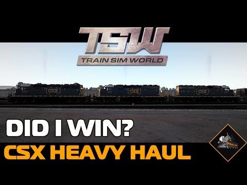 Completing the scenario... I think   Train Sim World CSX Heavy Haul
