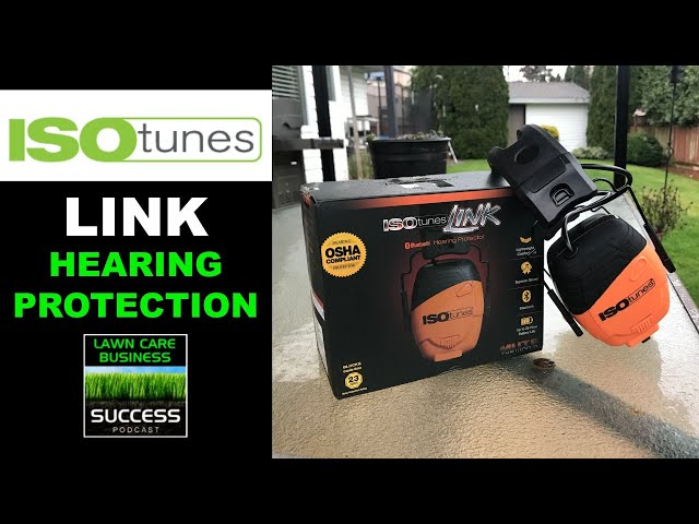 New ISO Tunes LINK Over Ear Style Bluetooth Hearing Protection