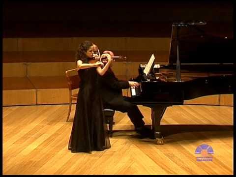 Alma Olite and Vadim Gladkov (Brahms Sonata Nº 3 - 2º mov)